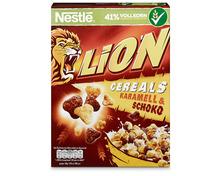 Nestlé Lion Cereals Karamell & Schoko, 2 x 400 g, Duo