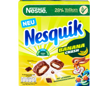 Nestlé Nesquik Cerealien Banana Crush