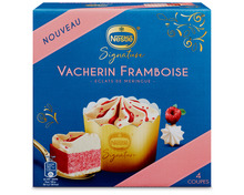 Nestlé Signature Cake Vacherin Framboise, 4 x 115 ml