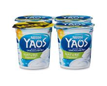 Nestlé Yaos Jogurt Nature, ungesüsst, 4 x 150 g