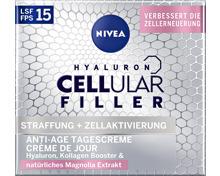 Nivea Hyaluron Cellular Filler Tagescreme LSF 15