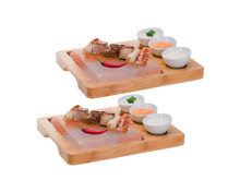 Nouvel Hot Stone Himalaya Salz/Bambus 2 Sets