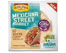 Old el Paso Mexicana Street Market Corn Tortillas, 208 g