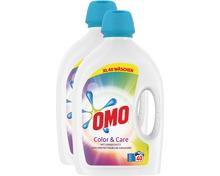 Omo Flüssigwaschmittel Color & Care