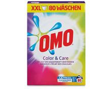 Omo Pulver Color & Care, 5,2 kg