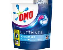 Omo Waschmittel Power Caps Ultimate Active Clean