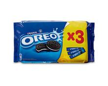 Oreo Biscuits Original, Rollen, 3 x 154 g, Trio