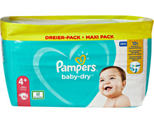 Pampers Baby-Dry Maxi Plus Windeln