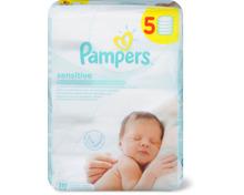 Pampers Baby-Feuchttücher im 5er-Pack, 5er-Pack