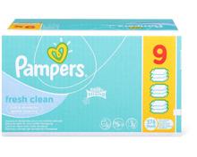 Pampers Baby-Feuchttücher im 9er-Pack