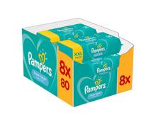 Pampers Feuchttücher Fresh Clean XXL 8 x 80 Stück