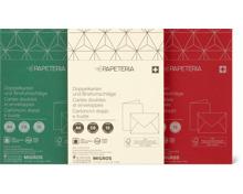 Papeteria Doppelkarten mit Briefumschläge, FSC
