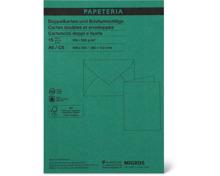 Papeteria Doppelkarten und Briefumschläge