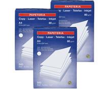 Papeteria Kopierpapier im 3er-Pack, FSC, 3er-Pack