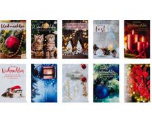 Papeteria Weihnachtskarten im 10er-Pack, FSC