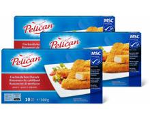Pelican Fischstäbchen Dorsch im 3er-Pack, MSC
