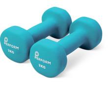 Perform Neoprenhanteln 2 x 2 kg