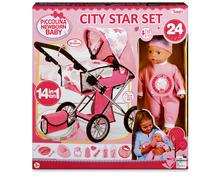 Piccolina Puppenwagenset City Star Set