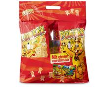 Pom-Bär Original, Tasche mit Puzzle, 4 x 100 g, Multipack