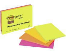 Post-it Haftnotizen Super Sticky Meeting, 152 x 101 mm, 4 x 45 Blatt