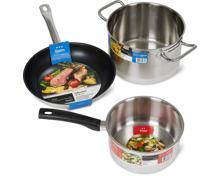 Prima- und Gastro-Kochgeschirr-Serie der Marke Cucina & Tavola