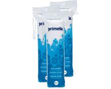 Primella-Wattepads und -Stäbchen im 3er-Pack