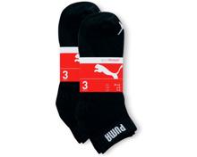 Puma Freizeitsocken im 6er-Pack schwarz, 6er-Pack