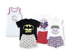 PUMMEL EINHORN/BATMAN/SUPERMAN/SUPERGIRL Bio-Kinder-Pyjama