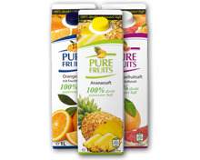 PURE FRUITS Fruchtsaft