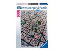 Puzzle Barcelona von Oben 1000-teilig
