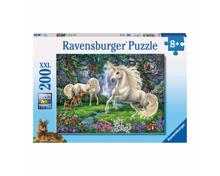 Puzzle Geheimnisvolle Einhörner 200-teilig