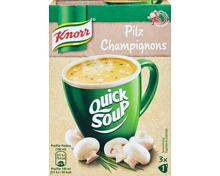 Quick Soup Pilz Knorr