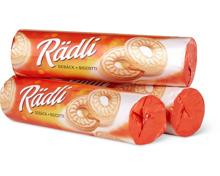 Rädli-Gebäck oder Butterli