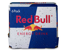 Red Bull Energy Drink, 6 x 25 cl
