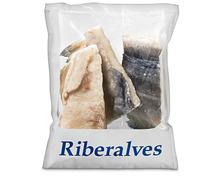 Riberalves Bacalaoportionen, MSC, aus Wildfang, Nordostatlantik, tiefgekühlt, 2 x 1 kg, Duo