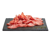 Salami Milano geschnitten
