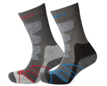 Salomon Hiking Performance Pro Unisex-Trekkingsocken 2er Pack
