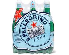 San Pellegrino im 6er-Pack, 6 x 1.25 Liter und 6 x 50 cl