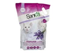 Sanicat Diamonds Lavender Katzenstreu 5 Liter