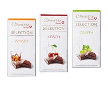 Schokolade mit Alkohol