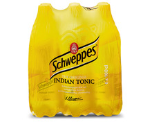 Schweppes Indian Tonic, 6 x 1 Liter