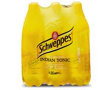 Schweppes Indian Tonic, 6 x 1 Liter