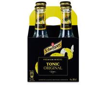 Schweppes Tonic Original, 4 x 20 cl
