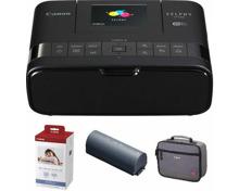 Selphy CP1200 Printing Kit mit Akku + Tasche (Thermosublimation, WLAN, Farbe)