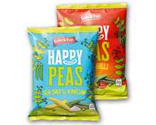 SNACK FUN Happy Peas