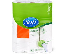 Soft Toilettenpapier Recycling in Sonderpackung