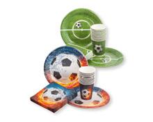 SOLO Einweggeschirr im Fussballdesign
