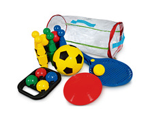 Sportsack 5in1 mit Softfussball