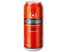 ST. GOTTHARD Schweizer Lager Bier hell