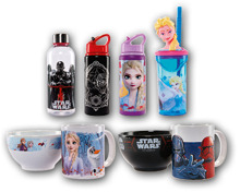 STAR WARS/DISNEY FROZEN Kinder-Geschirr